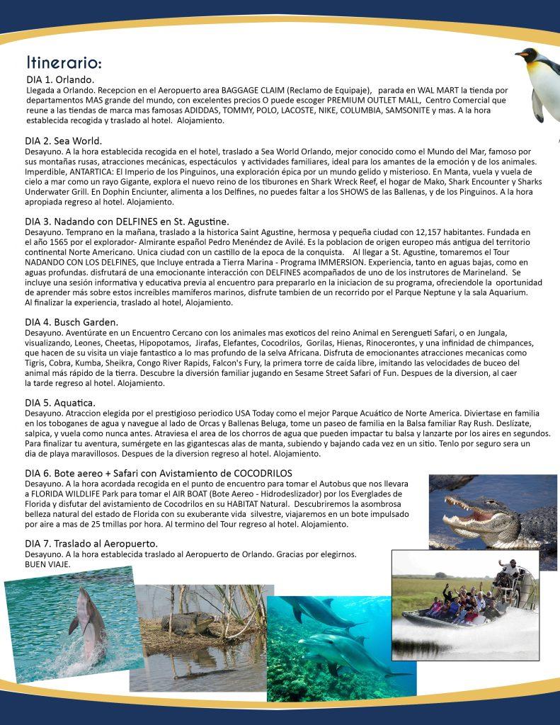 nadando con delfines +safari con cocodrilos