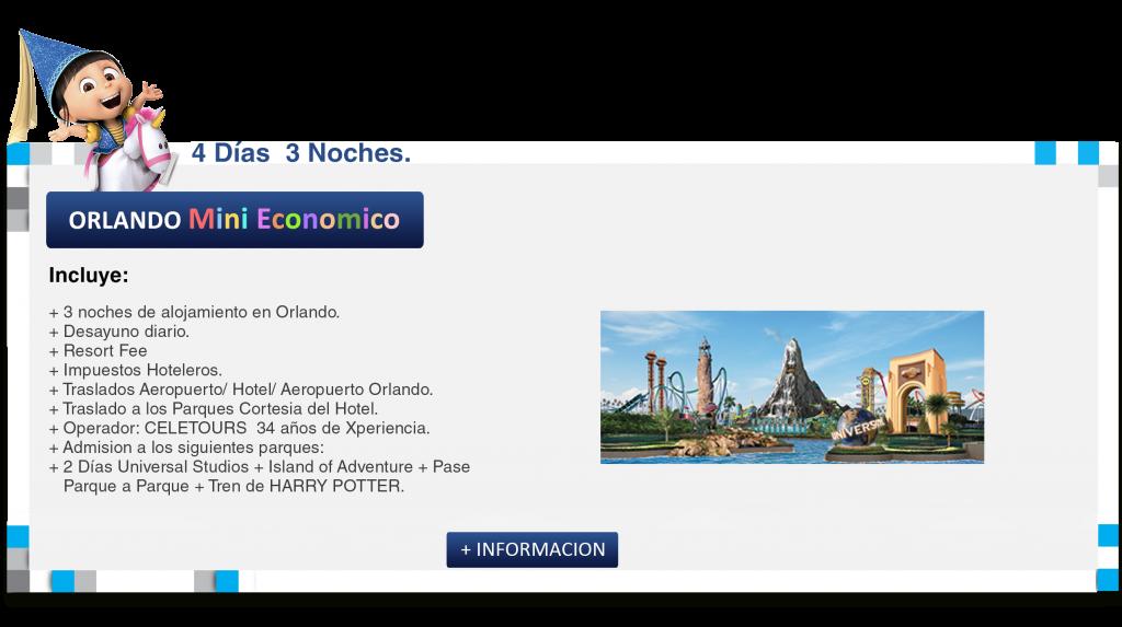 Miami & Orlando SUPER Economico 1 CELETOUR