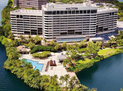 Hotel Hilton Miami Airport Blue Lagoon - Miami