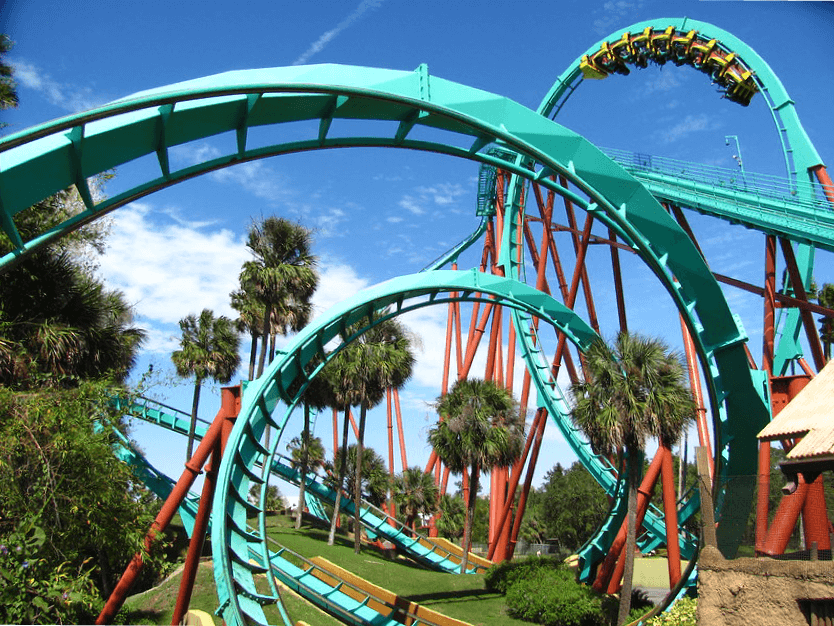 Roller Coaster - Busch Gardens