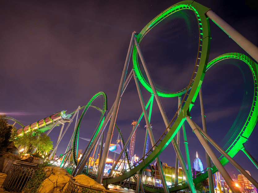 Roller Coaster - Island of Adventure