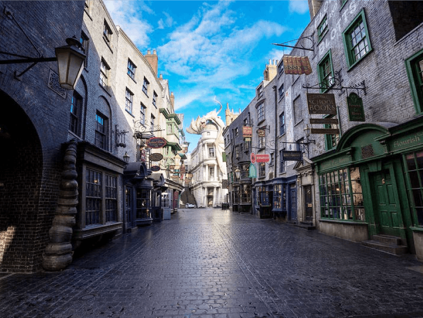 Diagon Alley Harry Potter - Island of Adventure