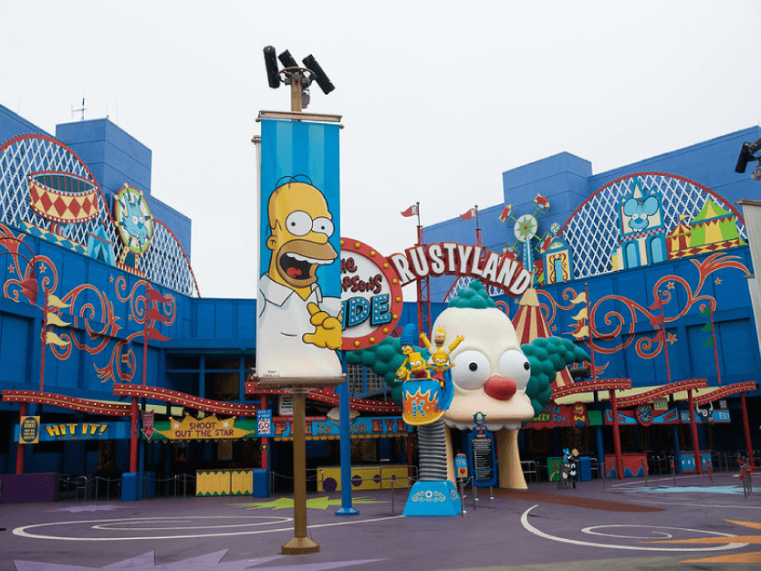 Krustyland The Simpsons Ride - Universal Studios
