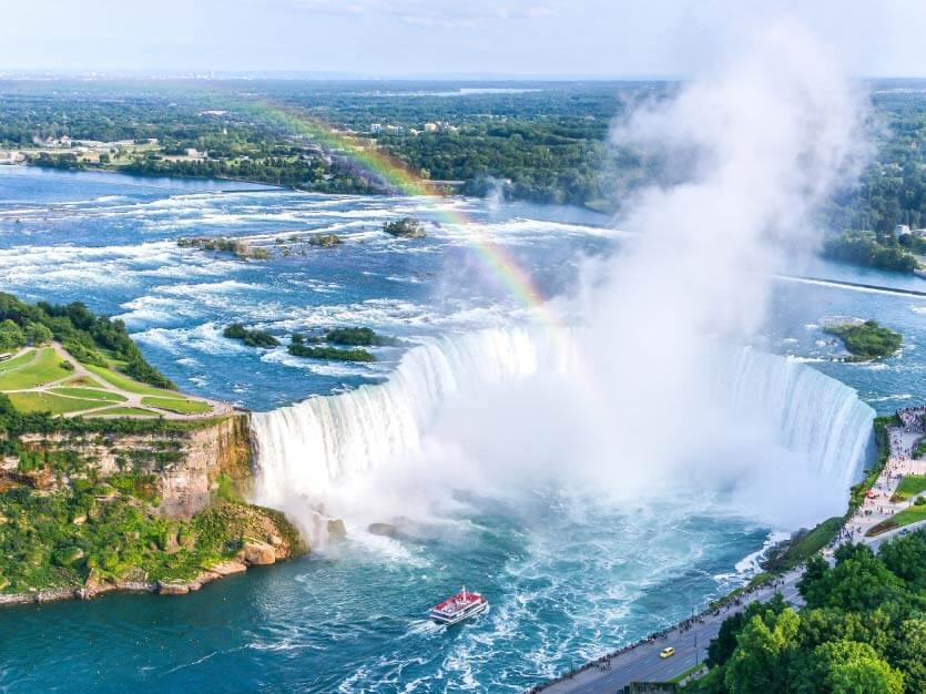 Niagara Falls Panoramic View