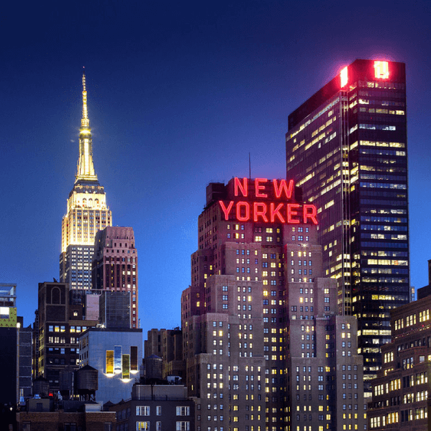 The New Yorker, Exterior
