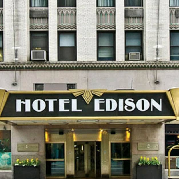 Hotel Edison, New York