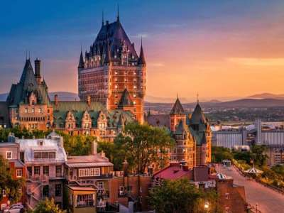 Hotel Chateau Frontenac - Quebec