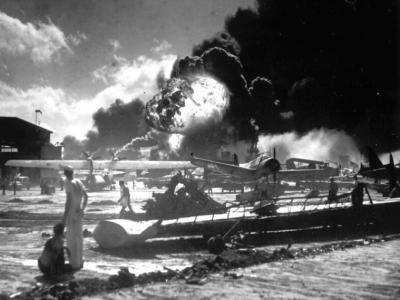 Ataque a Pearl Harbor - Dic 7, 1941 Hawaii