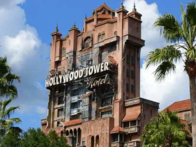 Hollywood Tower Roller Coaster