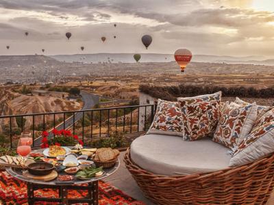 Viaje en Globo y Atardecer en Capadocia