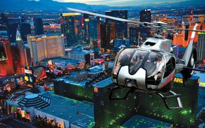 Vista en Helicóptero de Las Vegas